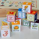 Vintage Alphabet Blocks