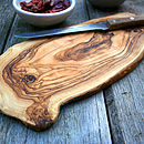 Olive Wood Chopping/Cheese Board