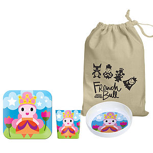 Child's Princess Melamine Tableware Set - gifts under £25