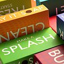 Jigsaw Boxes Close Up