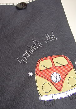 Personalised Campervan Case For ⅰPad