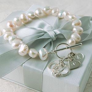 Silver Wedding Rings Bracelet - bracelets & bangles