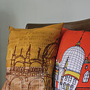 Venice Yellow Cushion