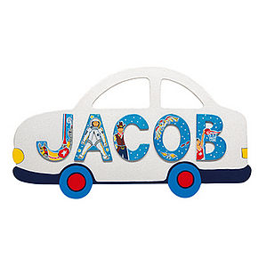 Name Plaque And Letters For Boys And Girls - children's room accessories