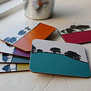 Rural Landscape Coasters Set