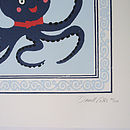Animal Silk Screen Art Print: Octopus