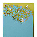 Forest Laser Cut Greetings Card