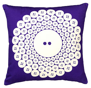 Button Cushion - cushions