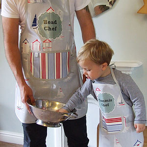 Personalised Beach Days Oilcloth Apron - shop by price