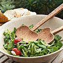 Coco Wood Salad Servers