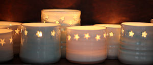 Star Tea Light Holders - weddings sale