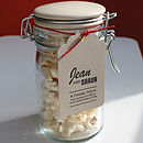 'Popcorn' Letterpress Wedding Stationery