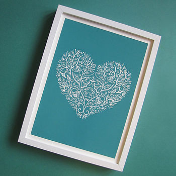 Heart Screen Print