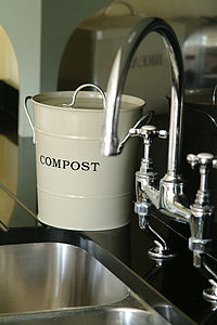 Compost Bucket - storage & organising