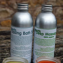 Sporty Pair: Massage Oil & Bath Salts