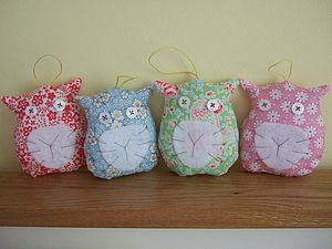 Decorative Hanging Lavender Cats