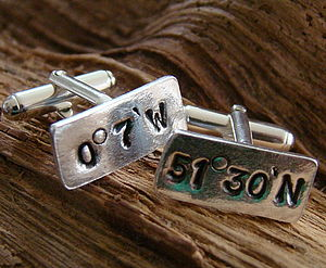 My Favourite Place Cufflinks - cufflinks