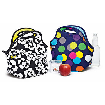 Compact Insulated Lunch Box Bag For Women