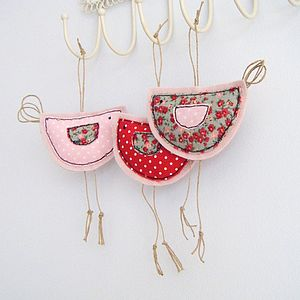 Hanging Birdy Decoration - home accessories