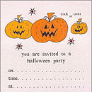 Pumpkin Invitations