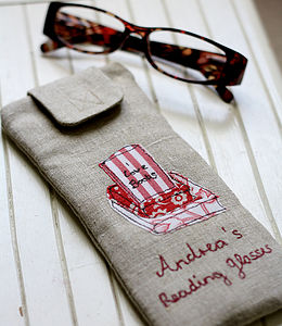 Personalised Glasses Case Books