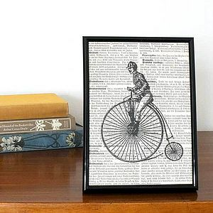Transportation Book Print