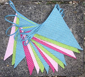 Country Spot Bunting - bunting & garlands