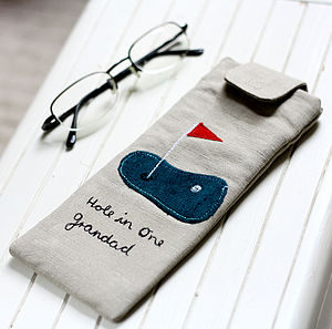 Personalised Glasses Case For Him - bags & cases