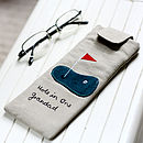 Personalised Glasses Case For Him