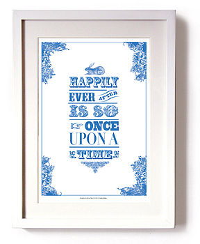 'Happily Ever After' Print
