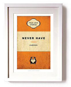 Never Ending Story Print - pictures, prints & paintings