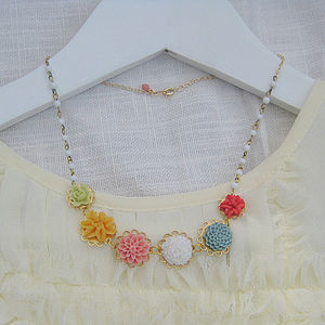 Chelsea Flower Necklace - children's jewellery