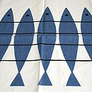 Linen Herring Tea Towel