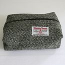 Harris Tweed Wash Bag
