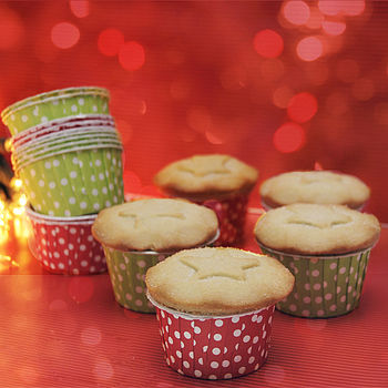 Christmas Polka Dot Treat Cups