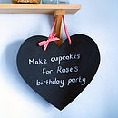 Medium Heart Chalkboard