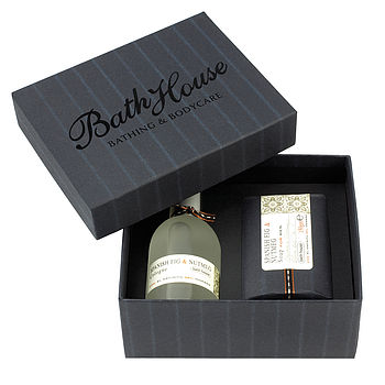 Men's Spanish Fig And Nutmeg Cologne Gift Box