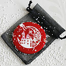 Christmas Handbag Mirror