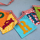 Embroidered Party/ Welcome Bunting