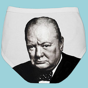 Political Man Pants - Churchill