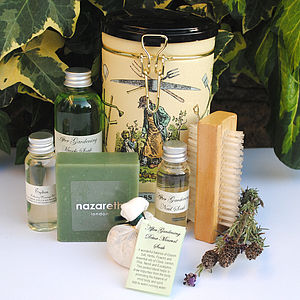 Bath Time Vintage Style Gardening Gift - bath & body