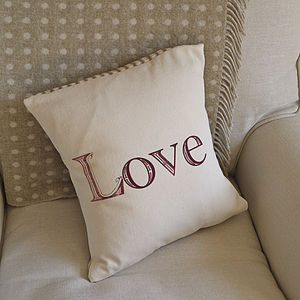 'Love' Cushion - cushions