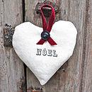 Noel Lavender Heart
