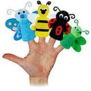 Make Your Own Set Of 12 Finger Puppets Kit