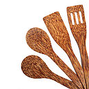 Set of Four Cooking Utensil Set detail