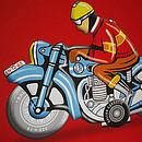 Hungarian Motorbike detail