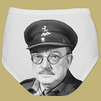 Funny Pants For Men Captain Mainwaring