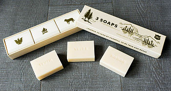 Scout Trio Of Soaps