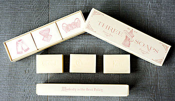 Powder Room Trio Of Soaps