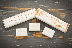 Great Plains Trio Of Soaps - mother's day gifts